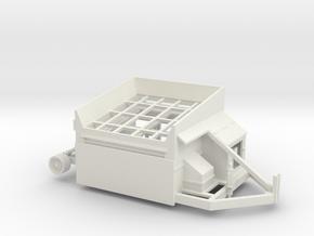 1/50th Screen All portable rock shaker screen in White Natural Versatile Plastic
