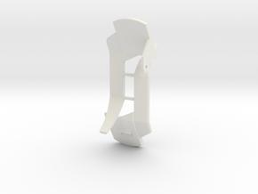 Rear fenders for ERTL John Deere 8400 1/32 in White Natural Versatile Plastic