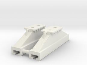 Verbauschlitten /rolling strut in White Natural Versatile Plastic: 1:50
