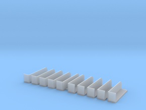 Marine Running Light Brackets - 1/64th Scale in Smoothest Fine Detail Plastic