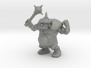 Ogre Champion 28mm miniature classic version games in Gray PA12