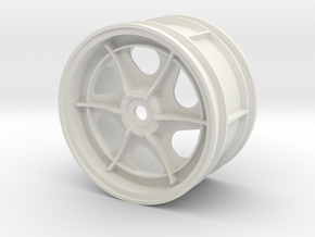tamiya 2.2 astute right rear wheel  in White Natural Versatile Plastic
