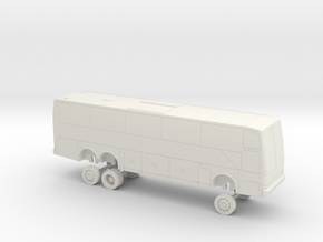 HO Scale Bus 2006 Van Hool T2140 A Perfect Express in White Natural Versatile Plastic