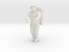 NASA Astronaut / CANADARM Position  (1:72) in White Natural Versatile Plastic