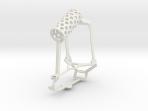 Controller mount for Steam & Bike Mount - Top in White Natural Versatile Plastic