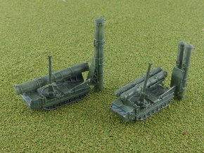 SA-12 SAM Transporter 9A84 9A85 1/285 in Smooth Fine Detail Plastic