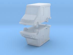 USPS Grumman LLV (x2) 1/220 in Smooth Fine Detail Plastic