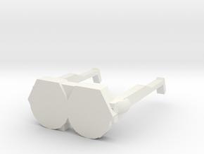 Shiny Gogo (1) in White Premium Versatile Plastic