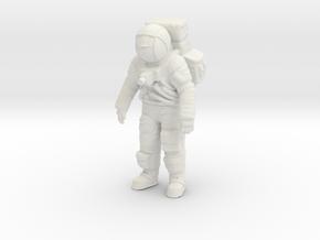 Apollo Astronaut Standing 1:32 in White Natural Versatile Plastic
