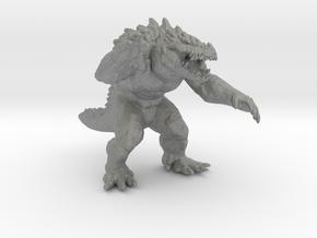 Krogadon kaiju monster 55mm miniature game fantasy in Gray PA12