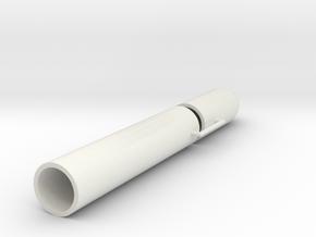 LT850 Plastic Parts in 1:24 in White Natural Versatile Plastic