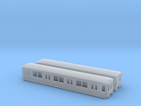 ET 167 (2 lights)  TT [2x body] in Smooth Fine Detail Plastic