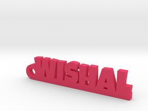 WISHAL_keychain_Lucky in Pink Processed Versatile Plastic