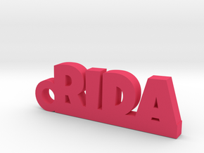 RIDA_keychain_Lucky in Pink Processed Versatile Plastic