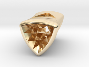 Stretch Diamond 5 By Jielt Gregoire in 14K Yellow Gold