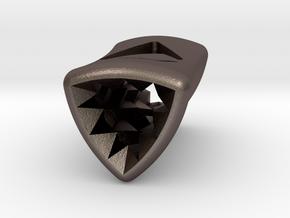 Stretch Diamond 5 By Jielt Gregoire in Polished Bronzed Silver Steel
