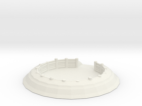 Gun Emplacement 1/160 in White Natural Versatile Plastic