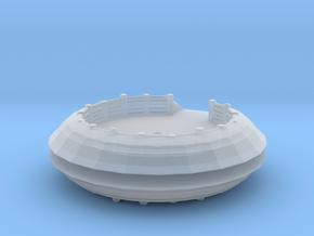 Gun Emplacement (x2) 1/220 in Smooth Fine Detail Plastic