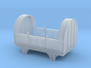 Broad Gauge Tilt Truck (N Scale) in Smooth Fine Detail Plastic
