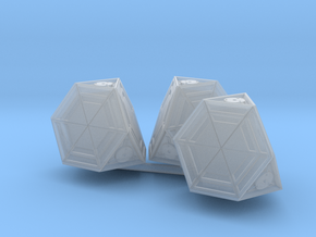 VALLEY FORGE 1/56 CARGO PODS in Smooth Fine Detail Plastic