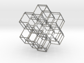 Rhombic Dodecahedral Lattice in Natural Silver