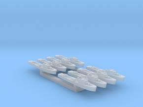8pk Fairmile C motor gun boat FUD 1:2400 in Smooth Fine Detail Plastic