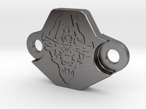 Gearsensor Cover KTM 790 ADV Member Logo 790advr in Polished Nickel Steel