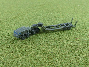 MAZ 537G early w. CHmZAP 5247 Trailer 1/285 in Smooth Fine Detail Plastic
