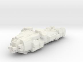 Matrix Nebuchadnezzar hovercraft/WHITE in White Natural Versatile Plastic