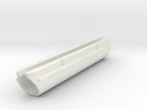 "Cape Dory 25, Slot= 4.2"", TD=16.44mm in White Natural Versatile Plastic"