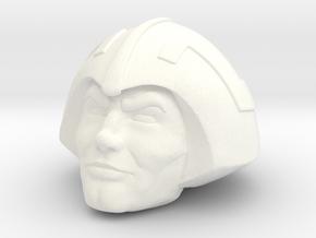Duncan (No mustache) in White Processed Versatile Plastic
