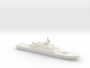 Freedom-Class LCS, 1/1250 in White Natural Versatile Plastic