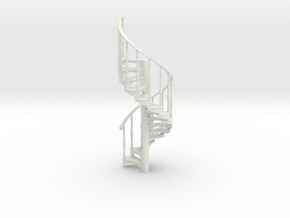 S-43-spiral-stairs-market-1a in White Natural Versatile Plastic
