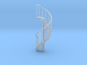 s-64fs-spiral-stairs-market-lh-2a in Smooth Fine Detail Plastic