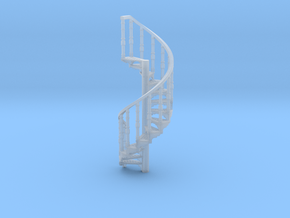 s-76fs-spiral-stairs-market-lr-2a in Smooth Fine Detail Plastic