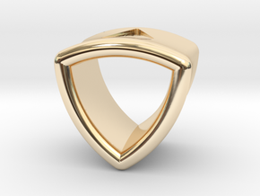 Stretch Shell 14 By Jielt Gregoire in 14K Yellow Gold