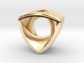 Stretch Rotor 16  By Jielt Gregoire in 14K Yellow Gold