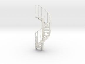 s-19-spiral-stairs-market-lh-2a in White Natural Versatile Plastic