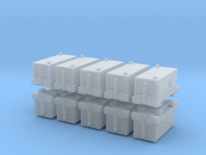 TLD ASU-600 Air Start Unit (x10) 1/400 in Smooth Fine Detail Plastic