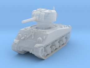 M4A3 Sherman 75mm 1/200 in Smooth Fine Detail Plastic