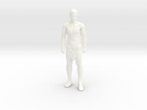 Tarzan - Standing in White Processed Versatile Plastic