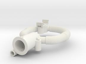 03.02.01.08 Grip Rev5 Textured in White Natural Versatile Plastic