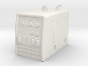 1/25th Miller Type Portable Welder in White Natural Versatile Plastic