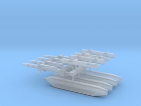 1:96 Scale EA-18G Growler Stores in Smooth Fine Detail Plastic