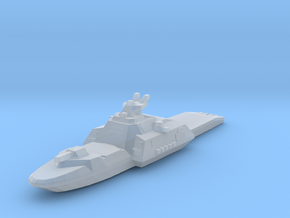 Gundam cruiser Des Moines 1:5000 waterline in Smooth Fine Detail Plastic