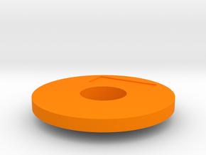 SOPORTE-TAPA in Orange Processed Versatile Plastic