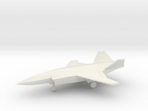 Boeing Loyal Wingman ATS UCAV (w/Landing Gear) in White Natural Versatile Plastic