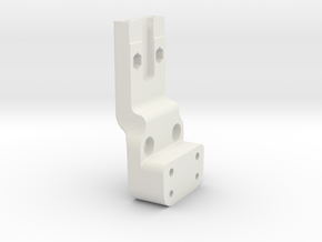 Rear Tower Mount TLR 22 3.0 Standup in White Natural Versatile Plastic