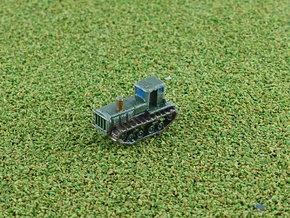 Russian STZ-3 Full Tracked Tractor 1/285 in Smooth Fine Detail Plastic