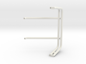 72PL C10 AMPM Rocket Roll Bar in White Natural Versatile Plastic